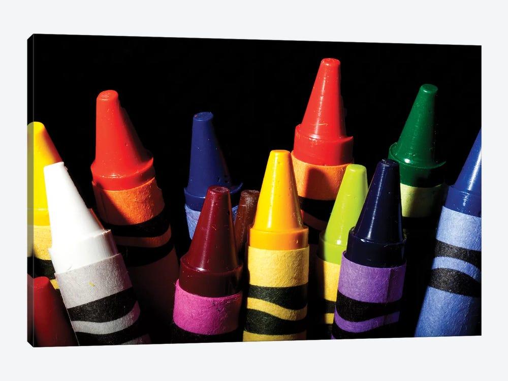 Crayons by Dana Brett Munach 1-piece Canvas Artwork