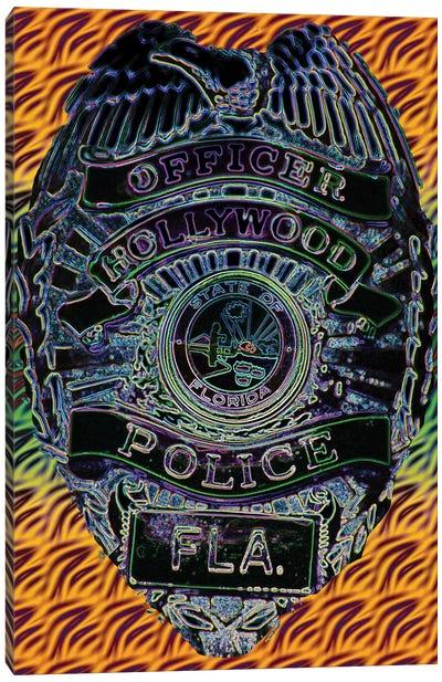 Hollywood Police Canvas Art Print