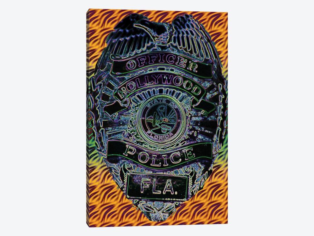 Hollywood Police by Dana Brett Munach 1-piece Art Print