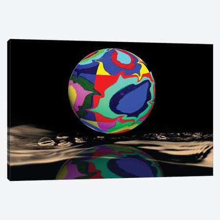 Kandinsky Sphered Canvas Print #DBM48} by Dana Brett Munach Canvas Art Print