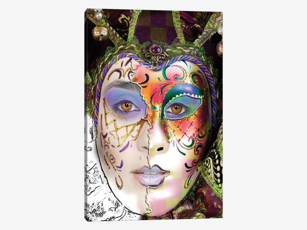 Masquerade by Dana Brett Munach 1-piece Canvas Artwork