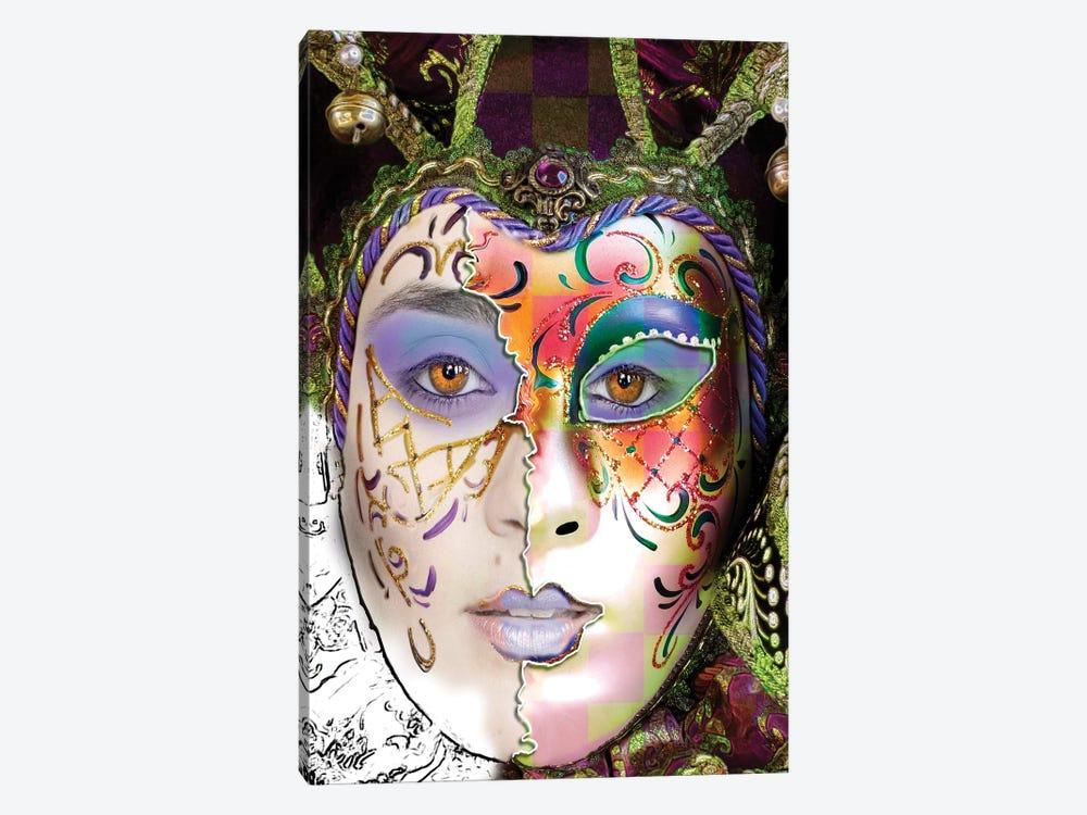 Masquerade by Dana Brett Munach 1-piece Canvas Artwork