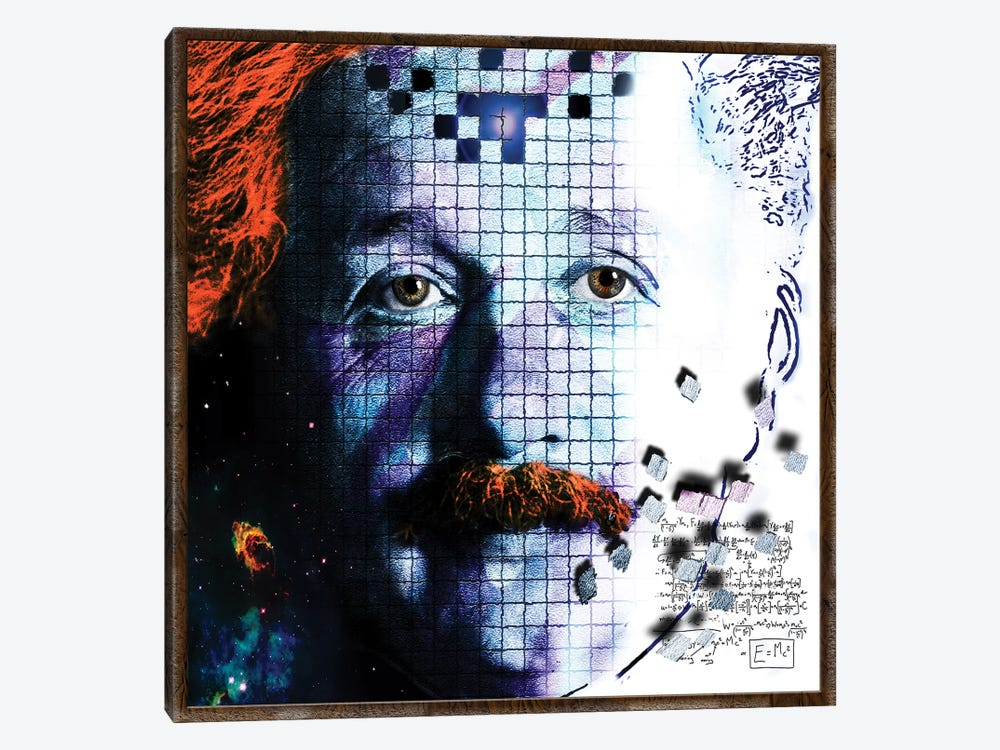 Relativity by Dana Brett Munach 1-piece Canvas Wall Art