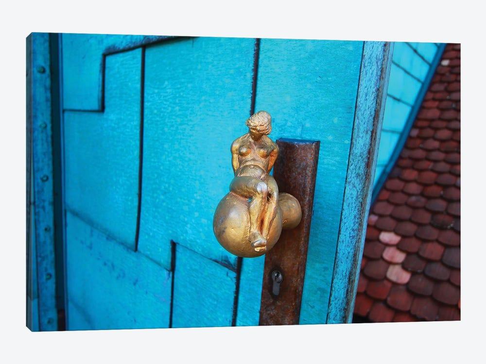 The Blue Door by Dana Brett Munach 1-piece Canvas Artwork