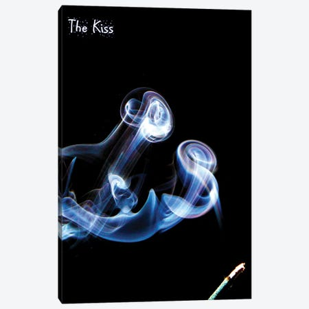 The Kiss Canvas Print #DBM93} by Dana Brett Munach Canvas Artwork