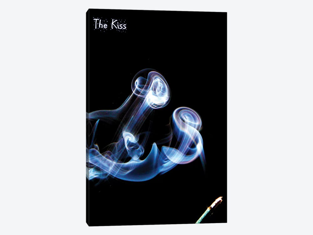 The Kiss 1-piece Canvas Wall Art