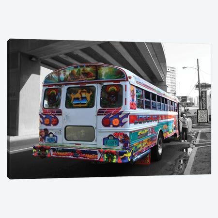 Bus Angel 3-Piece Canvas #DBM9} by Dana Brett Munach Canvas Print