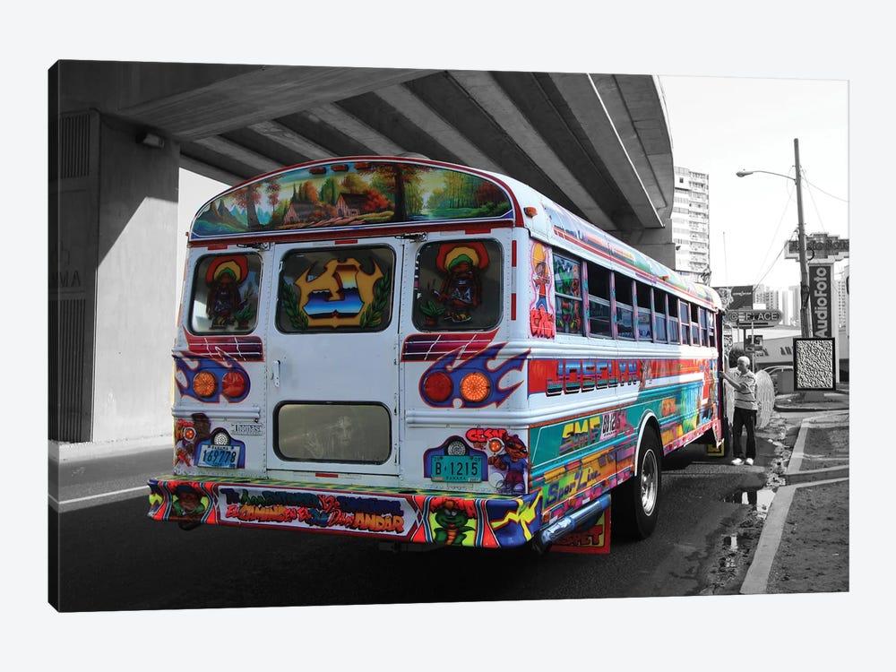 Bus Angel by Dana Brett Munach 1-piece Canvas Artwork