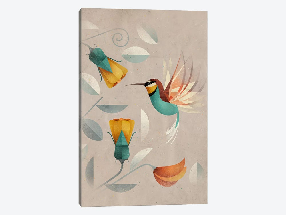 Hummingbird by Dieter Braun 1-piece Canvas Art