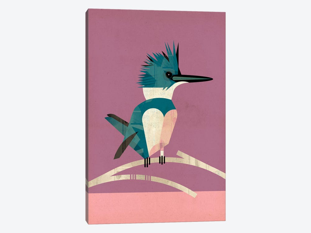 Kingfisher by Dieter Braun 1-piece Canvas Art Print