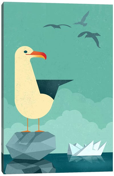 Seagull Canvas Art Print