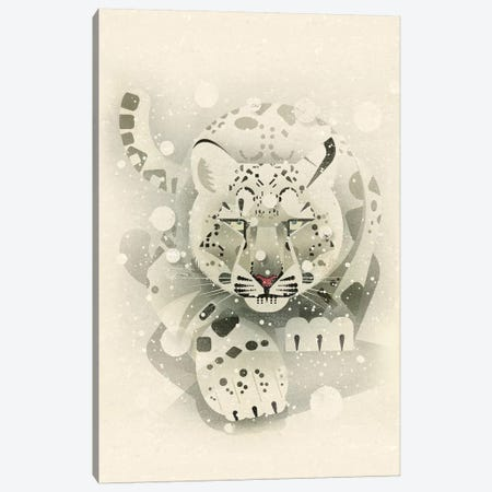 Snow Leopard Canvas Print #DBR19} by Dieter Braun Canvas Print