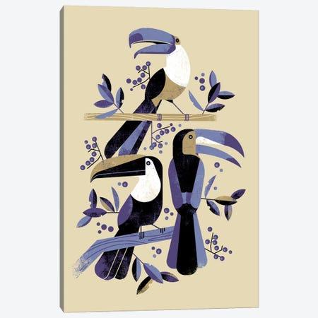 Tucans Canvas Print #DBR21} by Dieter Braun Canvas Art