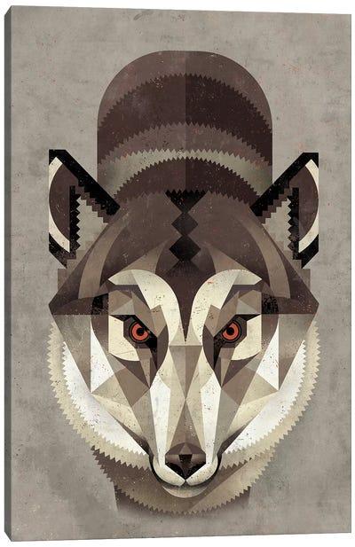 Wolf Canvas Print #DBR23