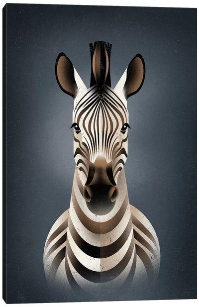 Zebra II Canvas Art Print