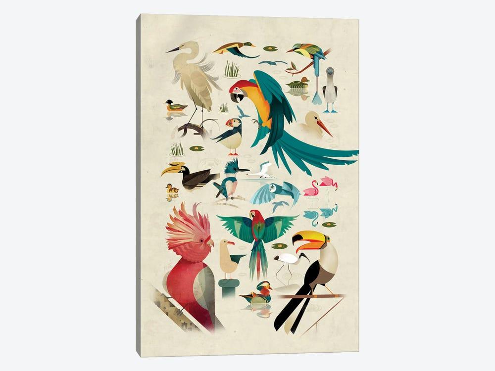 Birds by Dieter Braun 1-piece Canvas Art Print