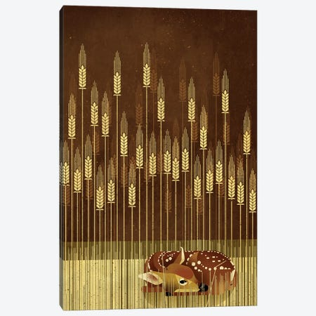 Fawn Canvas Print #DBR29} by Dieter Braun Canvas Artwork