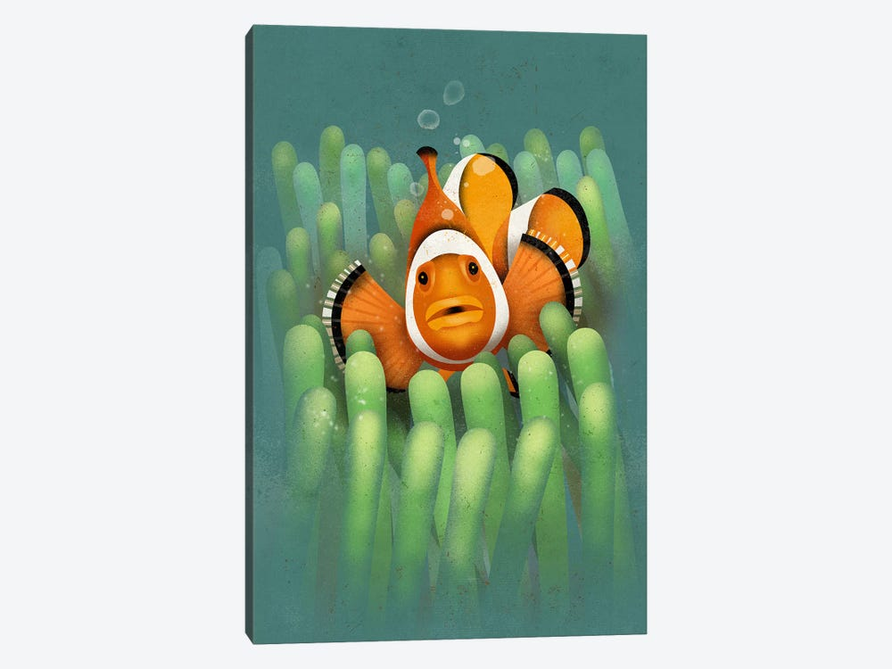 Clown Fish by Dieter Braun 1-piece Canvas Art