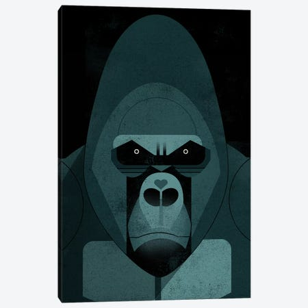 Gorilla Canvas Print #DBR30} by Dieter Braun Canvas Print