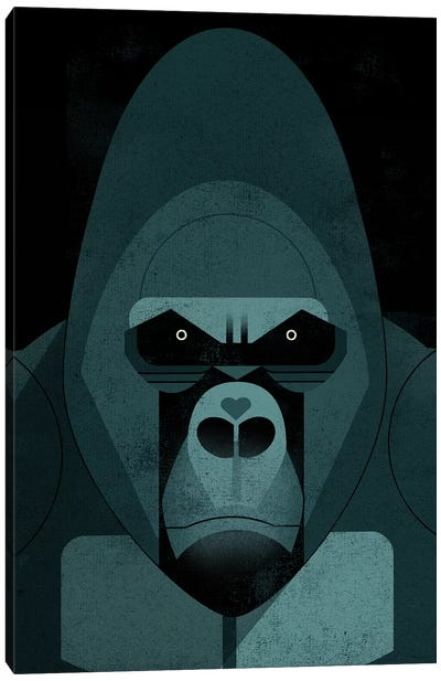 Gorilla Canvas Art Print