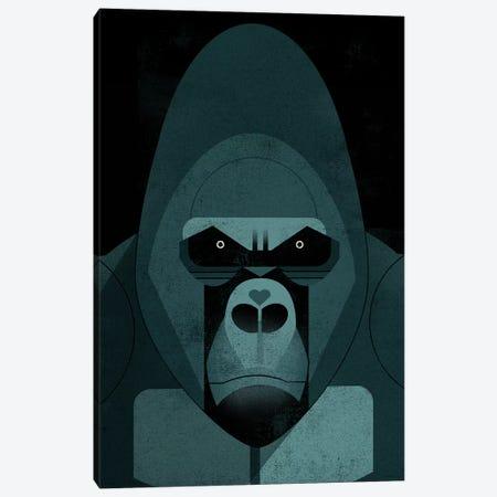 Gorilla Canvas Print #DBR30} by Dieter Braun Canvas Print
