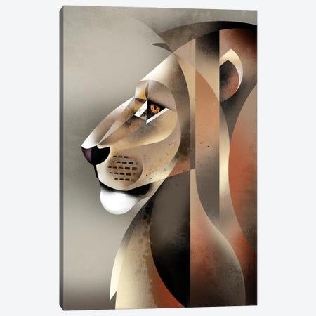 Lion Canvas Print #DBR32} by Dieter Braun Canvas Print