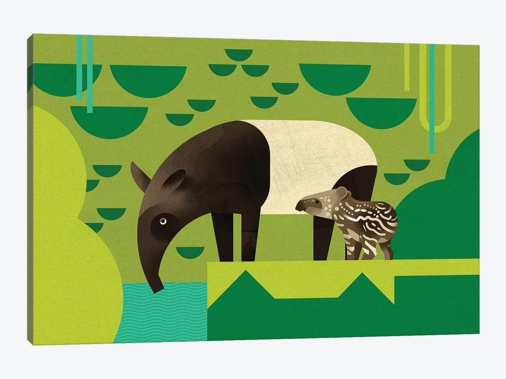 Tapir by Dieter Braun 1-piece Art Print