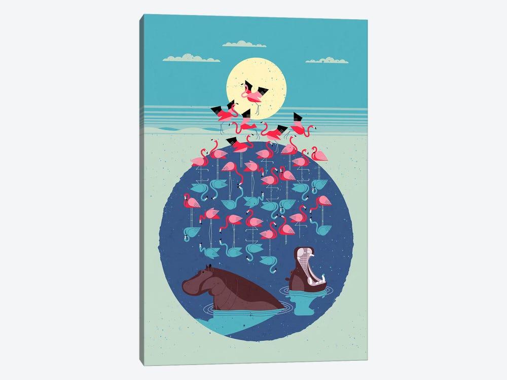 Flamingo Lake by Dieter Braun 1-piece Art Print