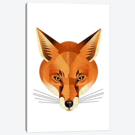 Fox Canvas Print #DBR4} by Dieter Braun Canvas Artwork