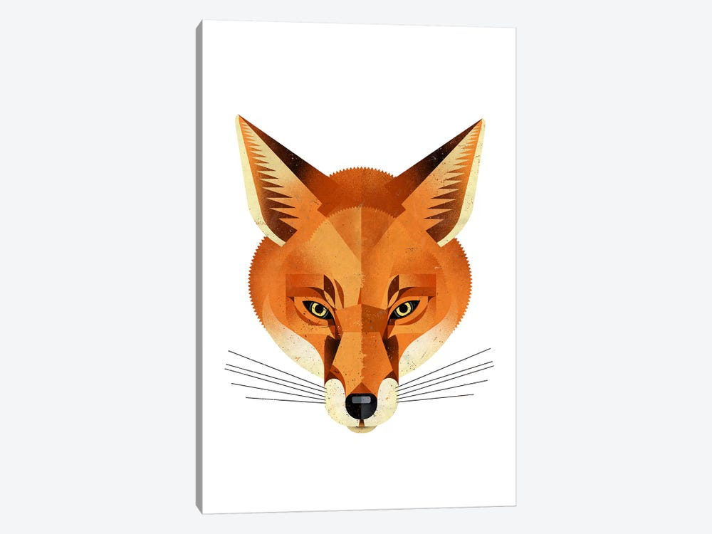 Fox by Dieter Braun 1-piece Canvas Artwork
