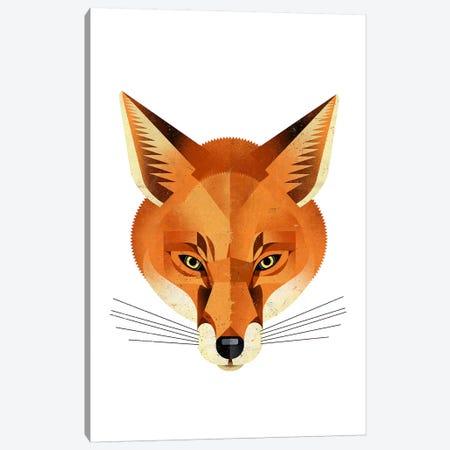 Fox Canvas Print #DBR4} by Dieter Braun Canvas Artwork