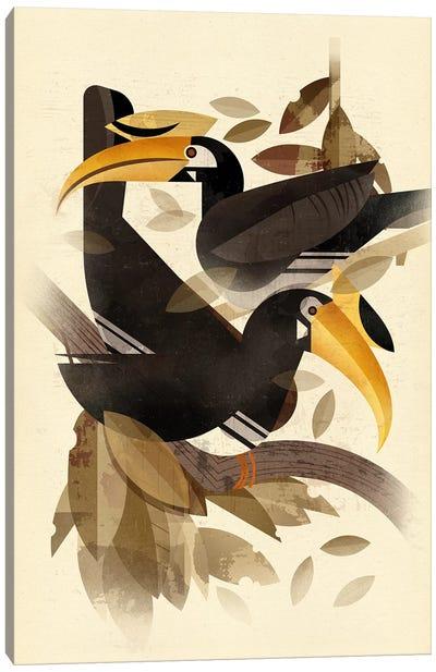 Hornbills Canvas Print #DBR9