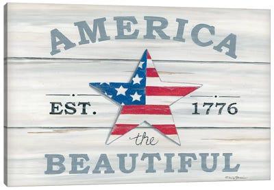America the Beautiful   Canvas Art Print