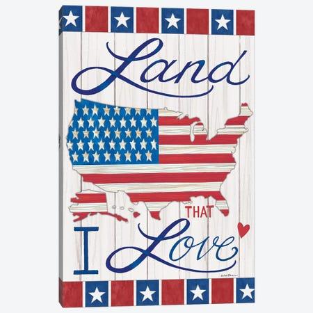Land That I Love Canvas Print #DBS21} by Deb Strain Canvas Print