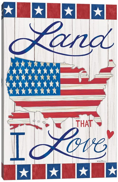 Land That I Love Canvas Art Print