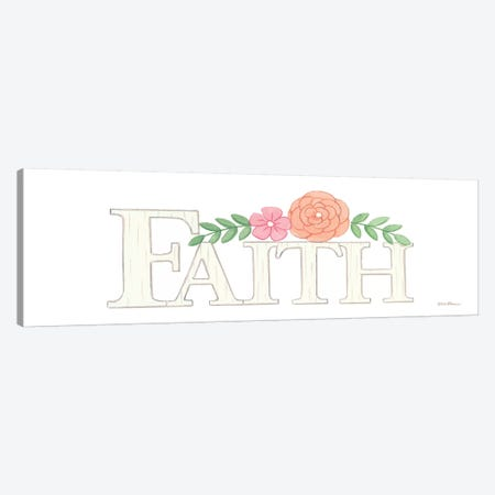 Faith Canvas Print #DBS24} by Deb Strain Canvas Wall Art