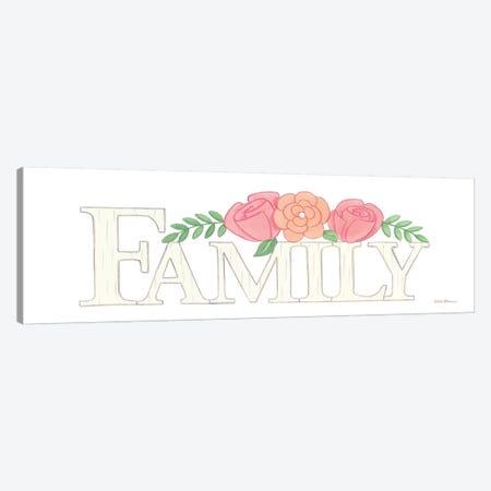 Family Canvas Print #DBS25} by Deb Strain Canvas Art