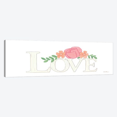 Love Canvas Print #DBS27} by Deb Strain Canvas Artwork