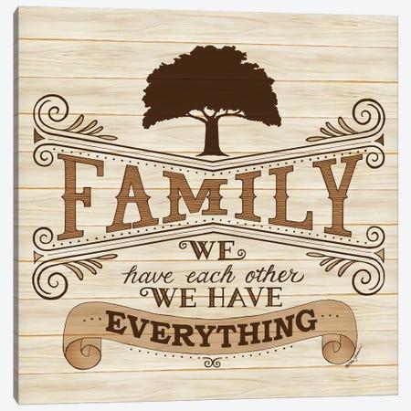 Family Canvas Print #DBS28} by Deb Strain Canvas Print