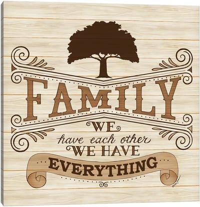 Family Canvas Art Print