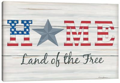 Home - Land of the Free I Canvas Art Print