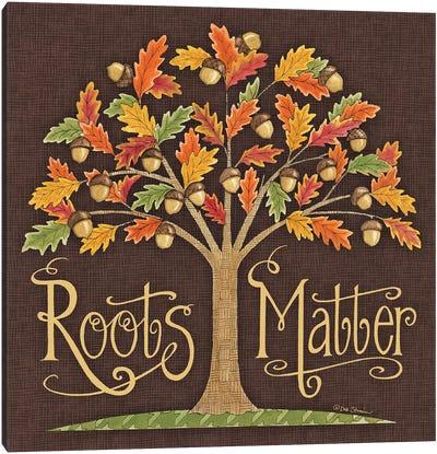 Roots Matter Canvas Art Print