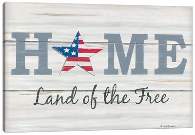 Home - Land of the Free II Canvas Art Print