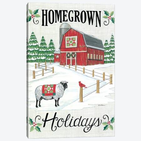 Homegrown Holidays Canvas Print #DBS43} by Deb Strain Canvas Print