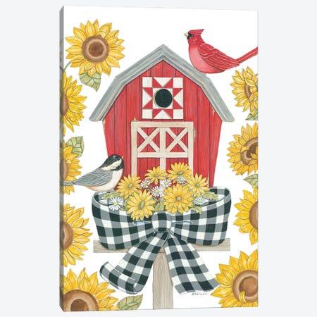 Sunflower Days Canvas Print #DBS46} by Deb Strain Canvas Wall Art