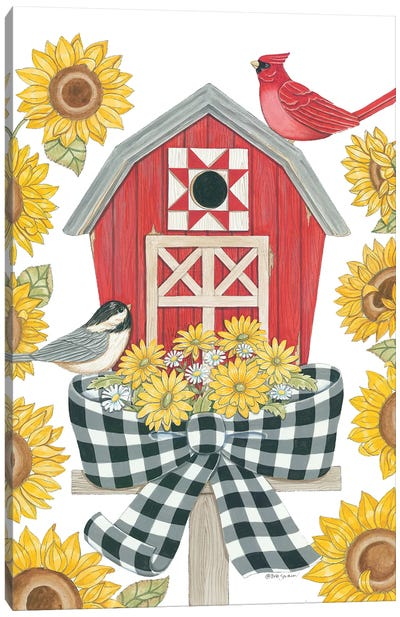 Sunflower Days Canvas Art Print