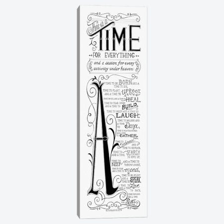 Time for Everything Canvas Print #DBS47} by Deb Strain Canvas Wall Art