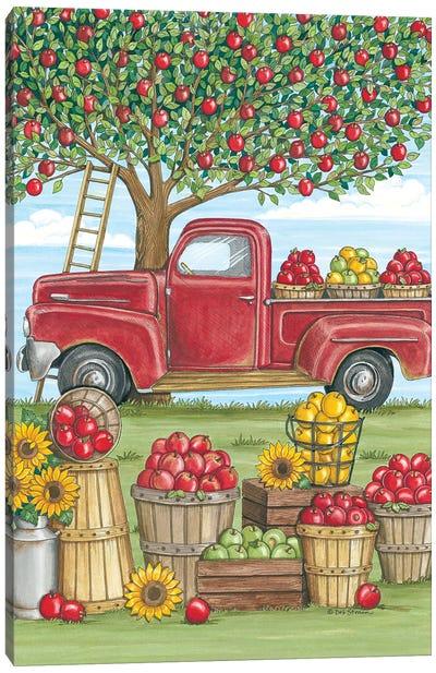 Apple Time Canvas Art Print