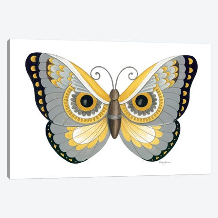Owl Butterfly Canvas Print #DBS4} by Deb Strain Canvas Art Print