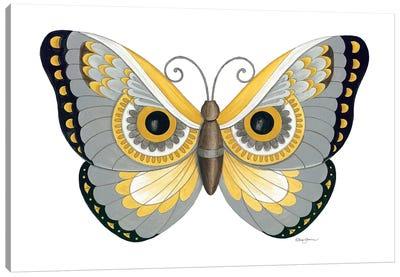 Owl Butterfly Canvas Art Print